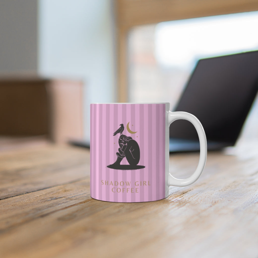 Tickled pink - is it love? Ceramic Mug 11oz