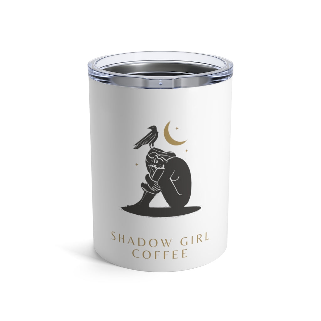 Shadow Girl Coffee Covered Tumbler 10oz