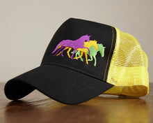 Load image into Gallery viewer, Brimham Yellow Trucker Cap