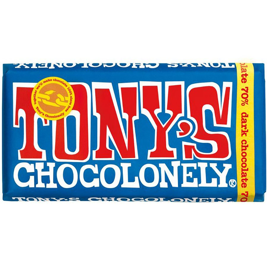 Tony's Chocolonely - Dark Chocolate 70% 180g