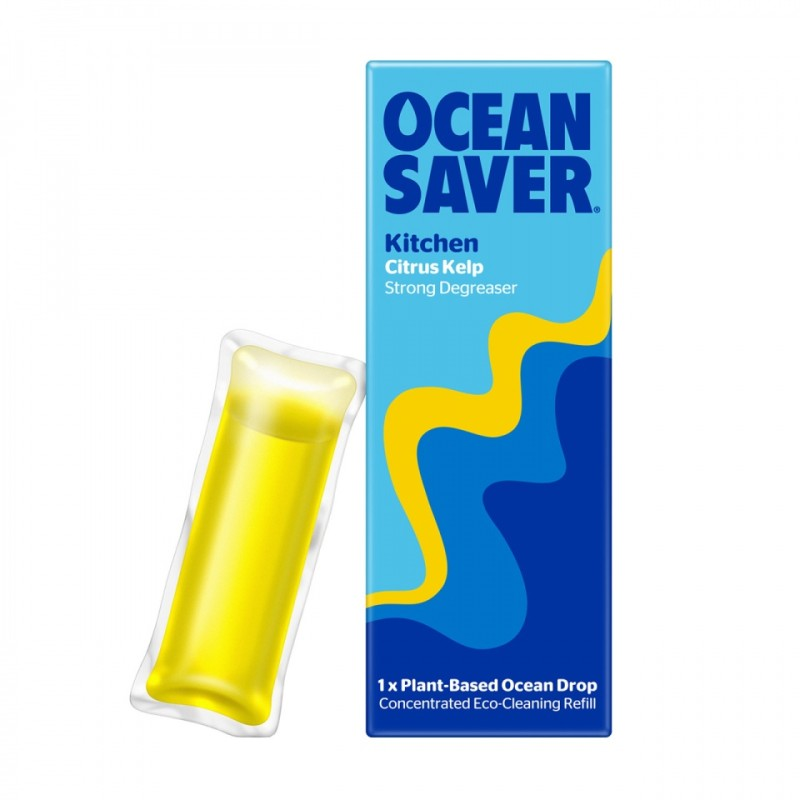 Kitchen Cleaner & Degreaser Spray - OceanSaver Cleaner Refill Drops