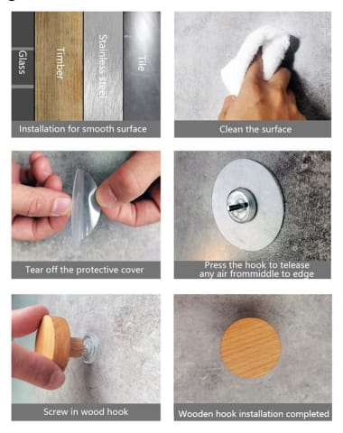 Nautical Toilet Paper Holder Installation Instructions