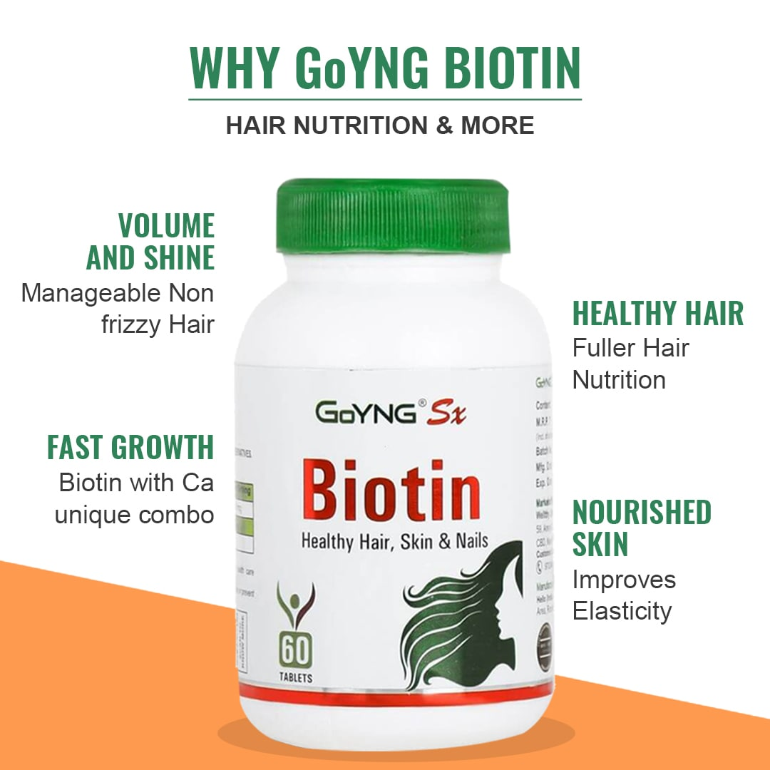 GoYNG Sx Biotin for Hair Nail Skin