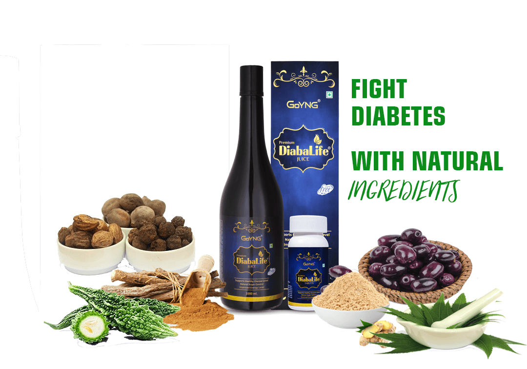 GoYNG DiabaLife Natural Diabetes Care Syrup 1 ltr and 60 tabs