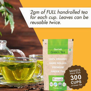GoYNG Green Tea (For Slimming, Anti oxidant, Detox Certified Organic)