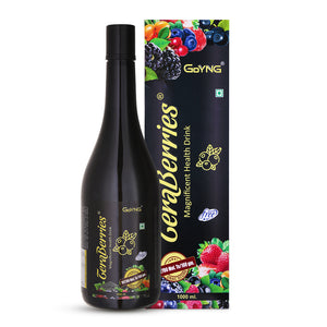 GoYNG TeraBerries with 16 berries Antioxidant power Syrup 1 ltr