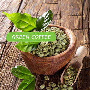 GoYNG Green Coffee Extract (Weight Loss, Fat Burn, Appetite Suppressant & Boosts Metabolism) 50% CGA 60 Veg Capsules