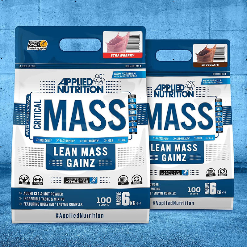 Applied Nutrition Critical Mass (6kg) - The Supplement Shack