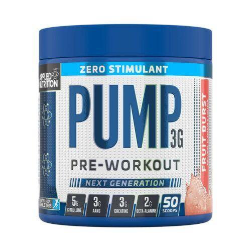 Applied Nutrition Pump 3G-Zero Stim (375g) - The Supplement Shack