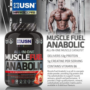 USN Muscle Fuel Anabolic (2kg) - The Supplement Shack