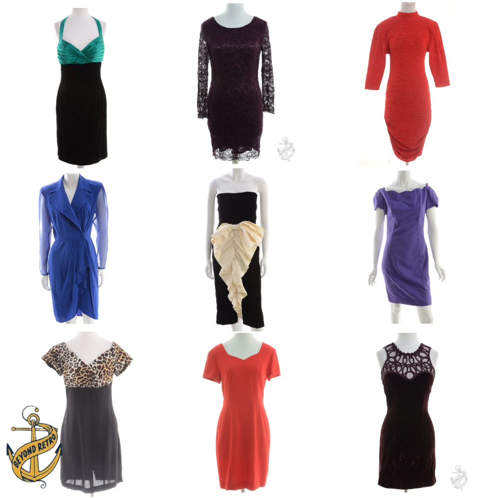 Boxes of Womens Party Dresses, Various Units and Weights