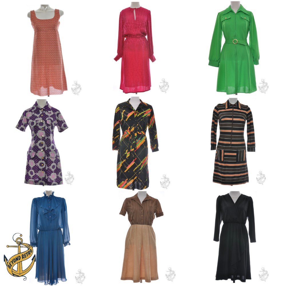 Boxes of Womens Dresses with metal zips, Various units and weight
