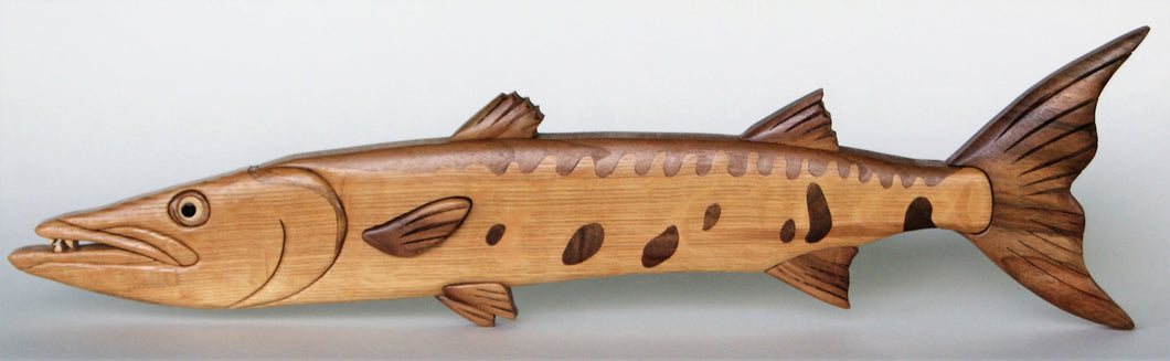 Barracuda Fish Wall Hanging