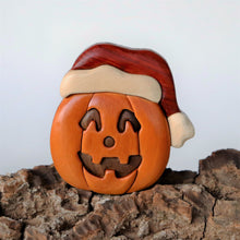 Load image into Gallery viewer, Holiday Jack o' Lanterns Magnet / Ornament