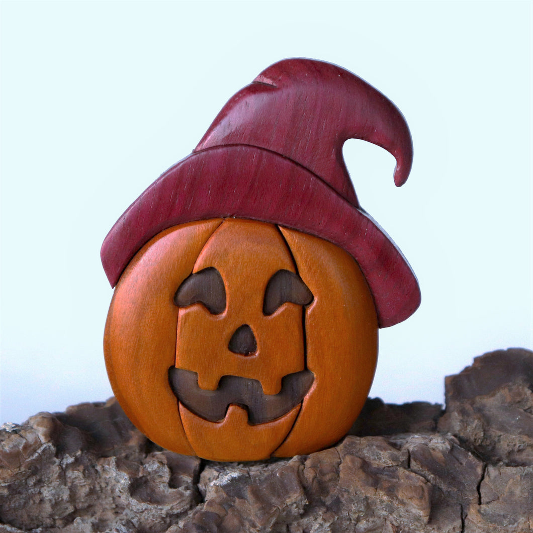 Holiday Jack o' Lanterns Magnet / Ornament
