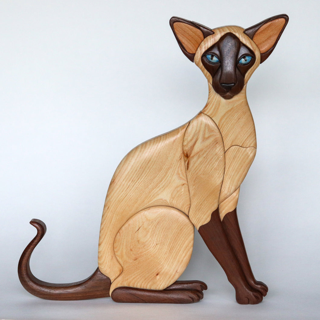 Sealpoint Siamese Cat Wall Hanging