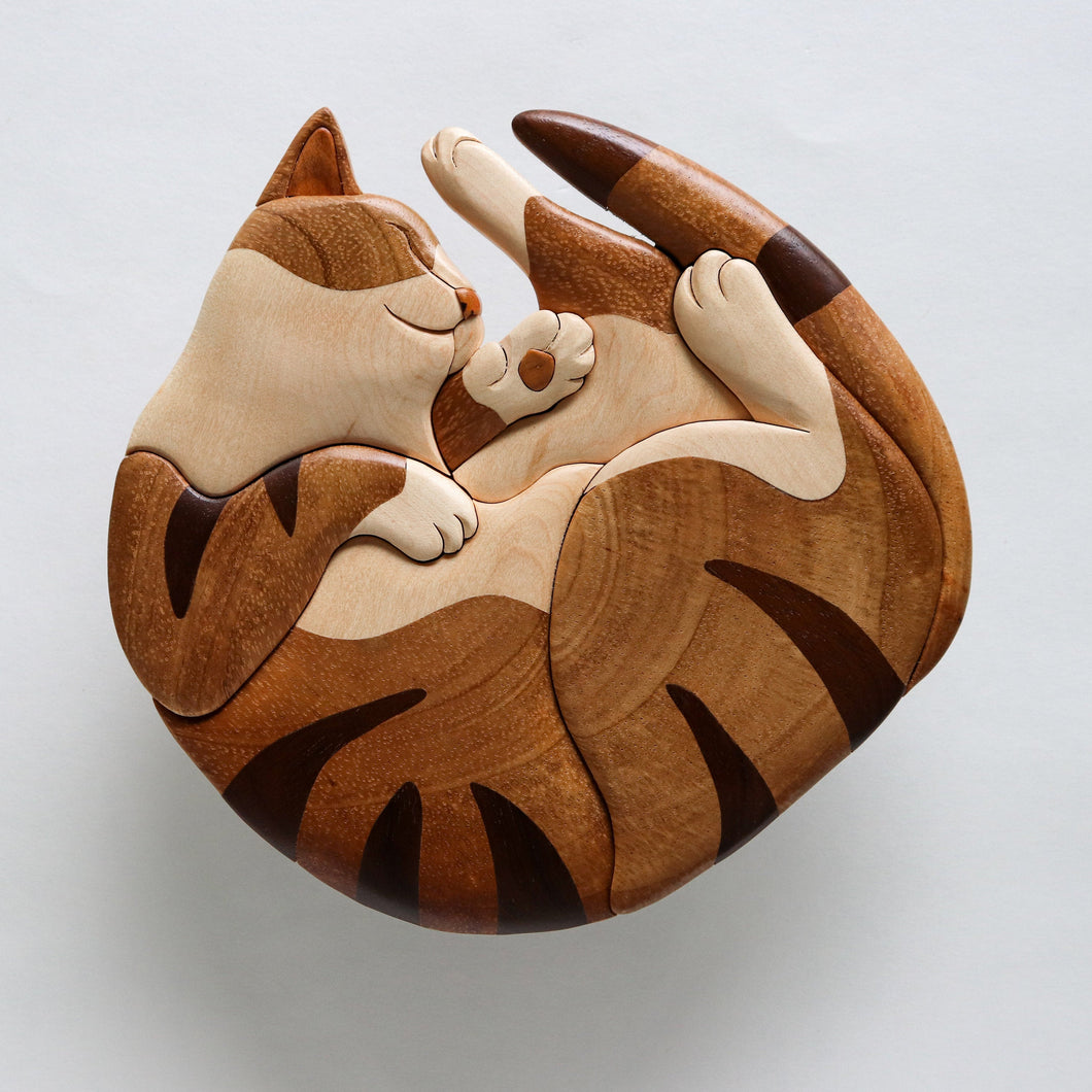 Sleeping Cat Wall Hanging