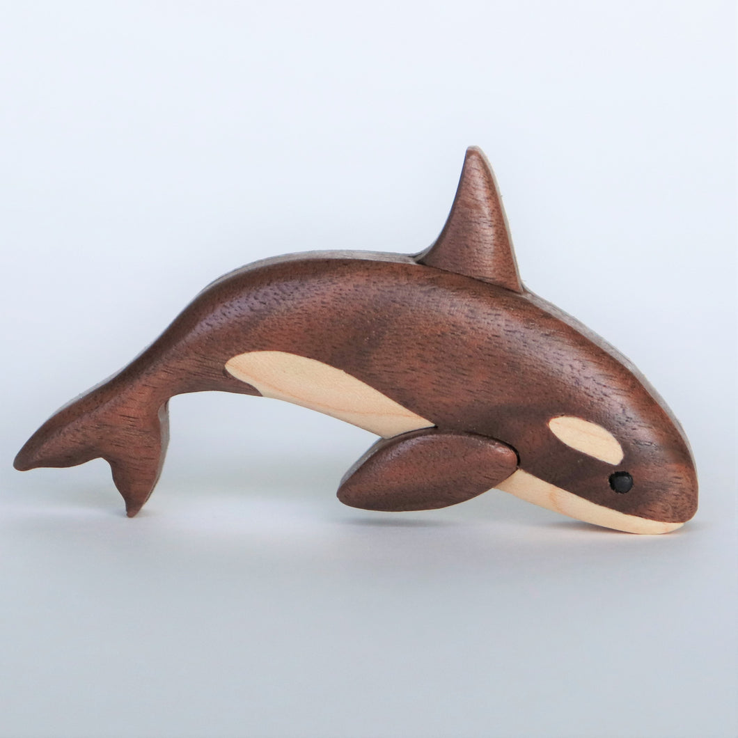Orca Killer Whale Magnet / Ornament