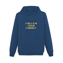 Load image into Gallery viewer, Follow your dreams Adult Hoodie Front Print Hooded Sweater with Pockets Offset Heat Transfer Print | Gildan 88500