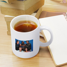 Load image into Gallery viewer, Ceramic Coffee Mug Two Sides Different Deisgns Mug 11 Oz Tea Cup