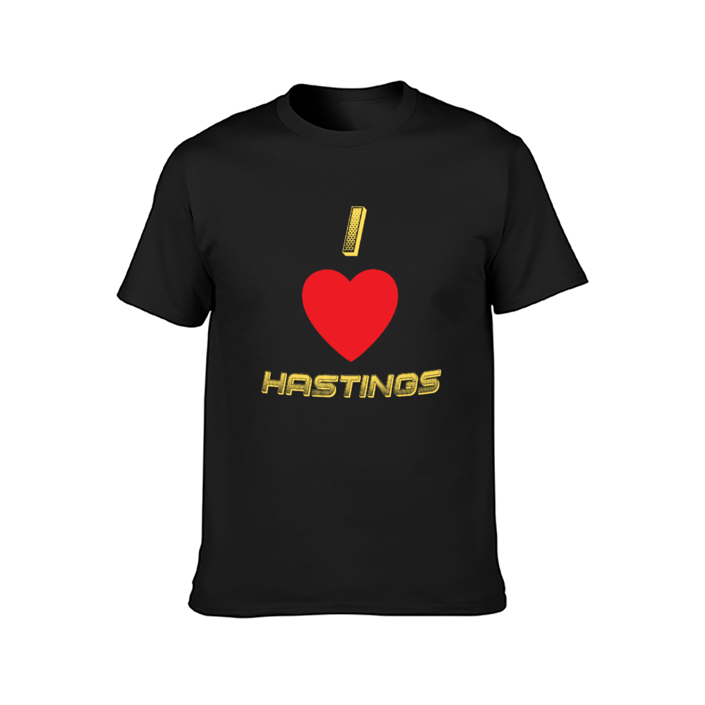Love Hastings Adult Classic T-Shirt Front Print DTG | Gildan 76000