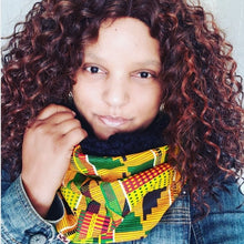 Load image into Gallery viewer, Infinity Scarf with African Inspired Print