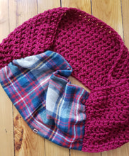 Load image into Gallery viewer, Fun Fall Infinity Scarf