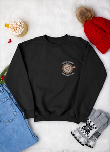 Coffee Scrubs & Rubber Gloves Crewneck Sweatshirt