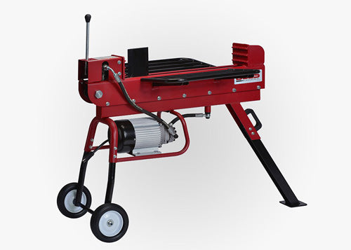 BOSS 10 TON DUAL ACTION ELECTRIC LOG SPLITTER OPERATIONAL VIDEO