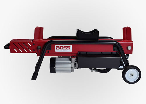 BOSS 8 TON DUAL ACTION ELECTRIC LOG SPLITTER OPERATIONAL VIDEO