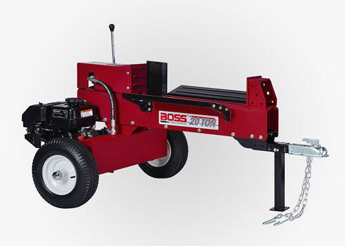 BOSS 20/16 TON DUAL ACTION GAS LOG SPLITTER ASSEMBLY VIDEO