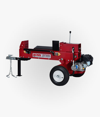 20 Ton Dual Action Gas Log Splitter