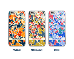 Lexington Map Phone Case - iPhone 5, iPhone 6, iPhone 7