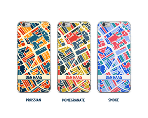 The Hague Map Phone Case - iPhone 5, iPhone 6, iPhone 7
