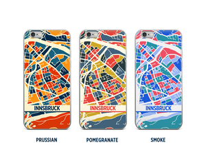 Innsbruck Map Phone Case - iPhone 5, iPhone 6, iPhone 7