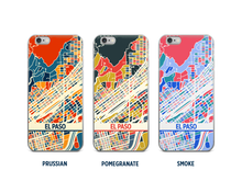 El Paso Map Phone Case - iPhone 5, iPhone 6, iPhone 7