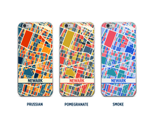 Newark Map Phone Case - iPhone 5, iPhone 6, iPhone 7