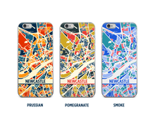Newcastle Map Phone Case - iPhone 5, iPhone 6, iPhone 7