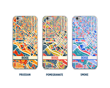 Boise Map Phone Case - iPhone 5, iPhone 6, iPhone 7