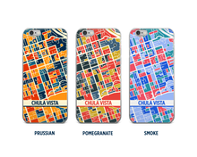 Chula Vista Map Phone Case - iPhone 5, iPhone 6, iPhone 7