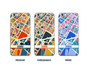 Dubai Map Phone Case - iPhone 5, iPhone 6, iPhone 7