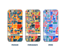 San Bernardino Map Phone Case - iPhone 5, iPhone 6, iPhone 7