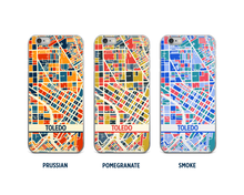 Toledo Map Phone Case - iPhone 5, iPhone 6, iPhone 7