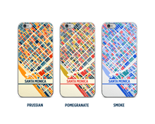 Santa Monica Map Phone Case - iPhone 5, iPhone 6, iPhone 7