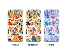 Columbus Map Phone Case - iPhone 5, iPhone 6, iPhone 7