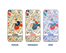 Athens Map Phone Case - iPhone 5, iPhone 6, iPhone 7