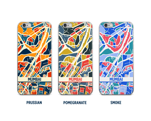 Mumbai Map Phone Case - iPhone 5, iPhone 6, iPhone 7