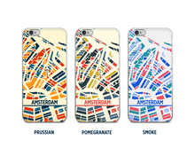 Amsterdam Map Phone Case - iPhone 5, iPhone 6, iPhone 7