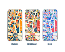 Madrid Map Phone Case - iPhone 5, iPhone 6, iPhone 7