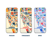 Liverpool Map Phone Case - iPhone 5, iPhone 6, iPhone 7